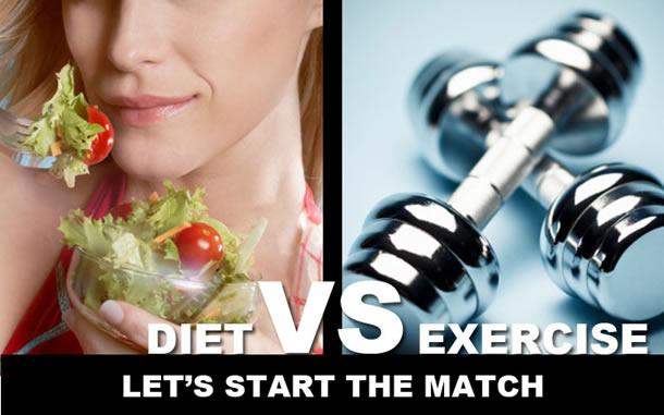 Dieta versus miscare fizica - Ce este mai important